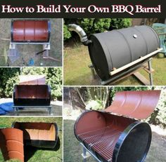 How To Build Your Own BBQ Barrel Pictures, Photos, and Images for Facebook, Tumblr, Pinterest, and Twitter