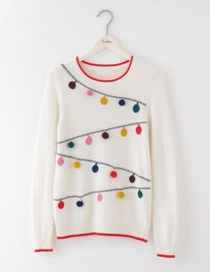 Bauble Sweater WV128 Knitted Sweaters at Boden