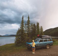 forrestmankins: Worn out in British Columbia (Azimuth Circle by Kiel James Patrick) Camping Aesthetic, Travel Aesthetic, Adventure Awaits, Adventure Travel, Plein Air, Go Outside, Yoga, Van Life, British Columbia