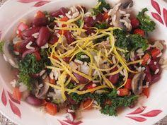 Vegan Kitchen Gone Wild: Red Beans & Rice Lemony Veggie Dish