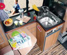 Küchenteil FT mit Sideboard, Nussbaum, Trave (#190921) - reimo.com