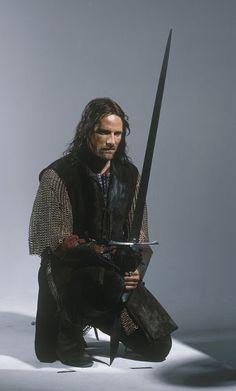 Viggo Mortensen as Aragorn: The Lord of the Rings