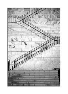 Beautiful sandstone stairs in Sydney Stair Ladder, Interior Architecture, Interior Design, Stairway To Heaven, Stairways, Good Times, Louvre, Australia, Sydney