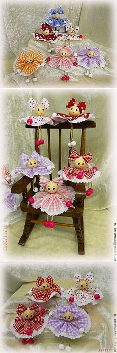 sewing video tutorial for dolls ♥ Kids Crafts, Doll Crafts, Hobbies And Crafts, Diy And Crafts, Craft Projects, Yarn Dolls, Felt Dolls, Diy Y Manualidades, Clothespin Dolls