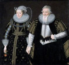 Sir Thomas Mansel (1556–1631), and Jane, née Pole, Lady Mansel- Sir Thomas was a member of one of the wealthiest families in south Wales.The Mansel family of Oxwich became wealthy by investing in monastic lands following Henry VIII's Dissolution of the Monasteries. Sir Thomas was the MP for Glamorgan. He inherited the family house in 1595, which had been built on the site of Margam Abbey, near Neath.