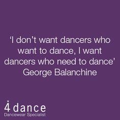 #Dance Inspiration - George Balanchine