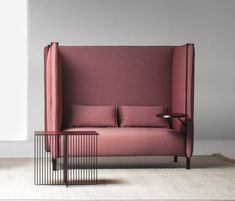 PINCH High-back sofa Pinch Collection by La Cividina design Skrivo Sofa Furniture, Luxury Furniture, Modern Furniture, Furniture Design, Sofa Design, High Design, Interior Design Shows, Modern Interior, Furniture Inspiration