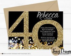 Birthday invitations for women elegant invitations birthday woman