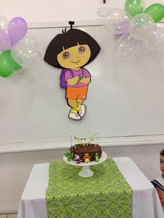 Natália 5 anos - Dora Aventureira - Festa na escola