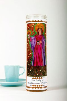 Everyday Icons - Our Lady of Latte/Espresso Drinkers