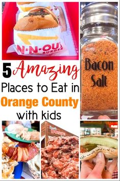 Want to know where to eat in Orange County California? These Five Totally Awesome Places to Eat in Orange County California won't disappoint! California With Kids, California Food, California Travel, Southern California, California Getaways, California Restaurants, Disney Dining Tips, Disneyland Food, Disney World Tips And Tricks