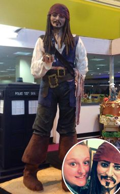 Johnny Depp, Jack Sparrow Cake
