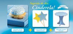 Complemente sua festa da Cinderela com nossos produtos!