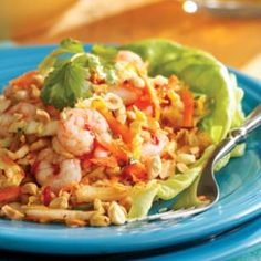 Chilled Maine Shrimp with Cabbage & Peanuts, Vietnamese-Style Recipe