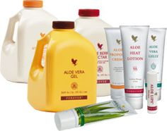 Various natural aloe vera products for your health and beauty from Arizona wellness company