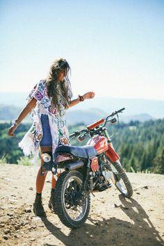 I used to have a dirt bike.  Wish I still had it.