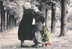 Cute wedding photo kids proposal