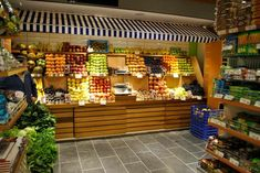 ZZEST MARKET AWNING Supermarkets grocery store designs: