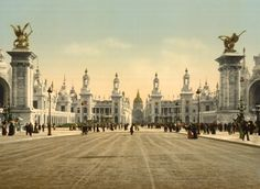Tumblr - multiversum:      Exposition Universelle (1900), Paris, France     Photochrom Prints via Library of Congress
