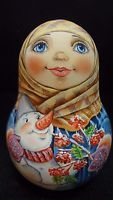 "Russian dolls roly-Poly ""Winter's tale""."