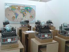 Costantino Cierva en el museo Fluxus+ de Postdam