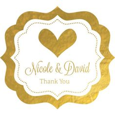 Add more gold, sparkling and shining elements to your wedding, bridal shower, even subtle decorations with these Personalized Wedding Metallic Foil Frame Labels. These metallic foil labels can be attached. Personalised Frames, Personalized Labels, Personalized Wedding, Summer Wedding Favors, Wedding Gifts For Guests, Wedding Ideas, Wedding Reception, Party Favor Tags, Wedding Favor Tags