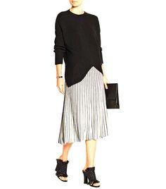 Proenza Schouler Stretch-Knit Skirt