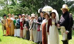 Come to the Fashion Show of beautiful early 1800 clothing on June 21  21 at the Genesee Country Village  Museum