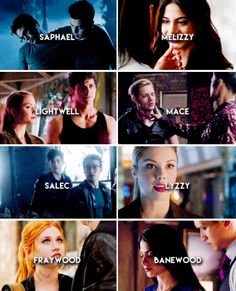 #Shadowhunters and untypical ships <3 Fraywood <3 Saphael <3 It's alive! <3