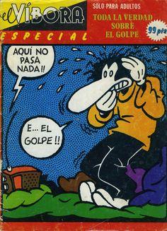 Libro Comic El Víbora. Especial Toda la verdad sobre el golpe