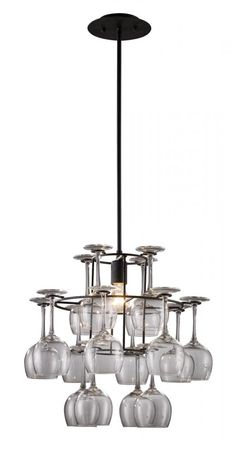 UNIQUE!!! Wine glasses actually come off and can be used! Design Lighting  sc 1 st  Pinterest & Design Lighting in Surrey British Columbia Canada Landmark ... azcodes.com