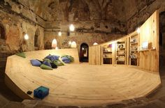 Would love to see this temporary library housed in ancient Turkish bath in   Plovdiv, Bulgaria in person!