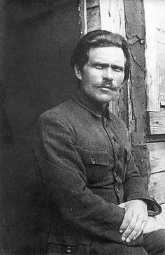 Нестор Іванович Махно (Nestor Ivanovych Makhno 1888-1934), Ukrainian Anarcho-Communist Revolutionary and The Commander of an Independent Anarchist Army in Ukraine during The Russian Civil War.