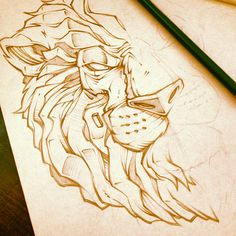 LUNCH SCRIBBLES 3 on Behance