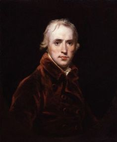 The artist John Hoppner (1758-1810). He was the last person to do a portrait of William Pitt the younger from life.