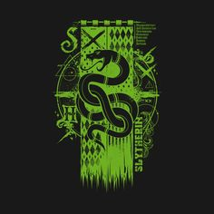 Shop Magic S House slytherin t-shirts designed by as well as other slytherin merchandise at TeePublic. Casas Do Harry Potter, Harry Potter Jk Rowling, Slytherin Harry Potter, Slytherin House, Slytherin Pride, Harry Potter Houses, Hogwarts Houses, Hogwarts Crest, Power Rangers