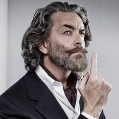 Natural Wavy Long Hair For Older Man 35 Best Men's Hairstyles For Over 50 Years Old Latest Haircuts For Older Men Older Mens Long Hairstyles, Older Men Haircuts, Hipster Haircuts For Men, Mens Hairstyles Fade, Hipster Hairstyles, Latest Haircuts, Cool Hairstyles For Men, Hairstyles Over 50, Short Hair With Beard