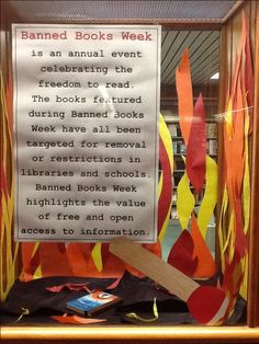 My Banned Books display 2013!