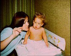 Baby Lisa Marie & mom Priscilla