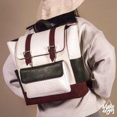 Let new adventures begin today - with your own designed from Make a Bag! Unique Handbags, Popular Handbags, 2017 Design, New Adventures, Tool Design, You Bag, Bag Making, Sling Backpack, Messenger Bag