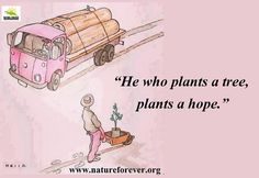 Plant a tree it goes a long way. Helps in saving birds, bees and the complete ecosystems. Save Environment, Bees, Plants, Gardening, Lawn And Garden, Flora, Plant, Horticulture, Square Foot Gardening