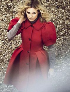 Little Red Riding Hood [Diane Kruger by Signe Vilstrup for Glamour Italy August 2015]