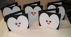 christmas cards designs pinguins - Buscar con Google