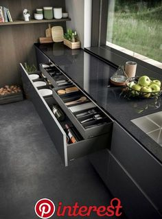 Contemporary Kitchen Design (Benefits and Types of Kitchen Style) Kitchen Room Design, Best Kitchen Designs, Kitchen Cabinet Design, Modern Kitchen Design, Home Decor Kitchen, Interior Design Kitchen, Kitchen Ideas, Kitchen Inspiration, Diy Kitchen