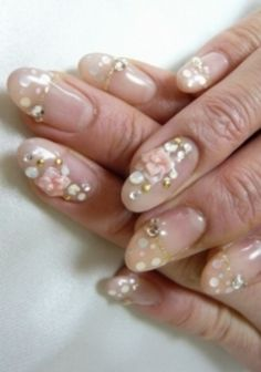 Nail Designs for Wedding Day | Wedding Day Nail Art 16 Photos » 5 Picture