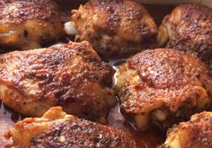 Chicken Wing Recipes, Meat Recipes, Cooking Recipes, Quiche, Good Food, Yummy Food, Tandoori Chicken, Food To Make, Pork