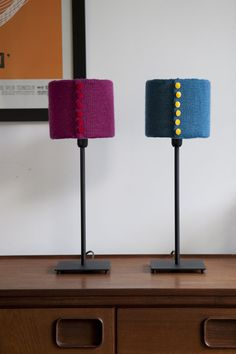 Knitted Lampshade covers