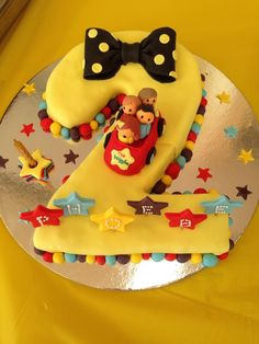 Discover recipes, home ideas, style inspiration and other ideas to try. Harry Birthday, 3rd Birthday Cakes, 1st Birthday Girls, 2nd Birthday Parties, Birthday Fun, Birthday Ideas, Third Birthday, Wiggles Cake, Wiggles Party