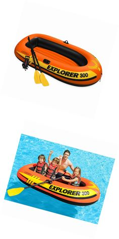 Inflatables 87090: Intex Explorer 300, 3-Person Inflatable Boat Set With French Oars And High Outpu -> BUY IT NOW ONLY: $38.12 on eBay!