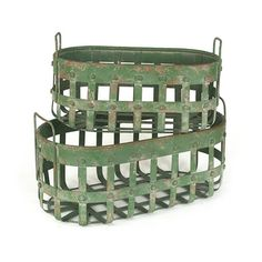 Handy Helper Green Baskets - Set of 2#LGLimitlessDesign #Contest